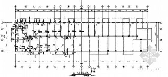 框架结构住宅楼结构施工图(五层 坡屋面)