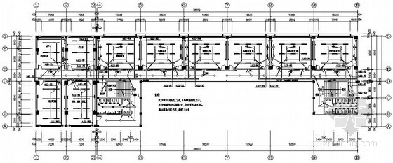 中学综合教学楼电气施工图纸