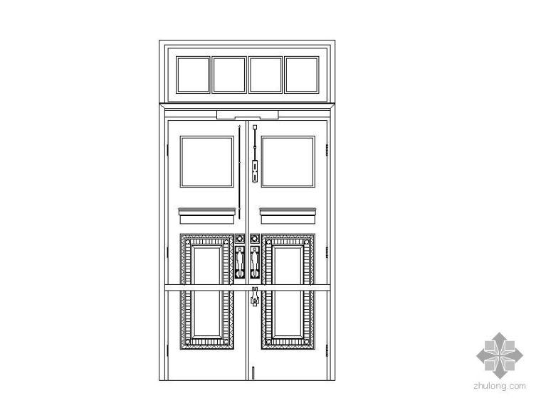 250种大门的样式、做法及各种节点