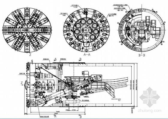 海瑞克EPB-Φ6390铰接式土压平衡盾构机