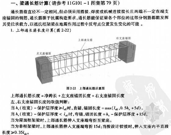 [新手必备]新平法识图及钢筋工程量计算精讲讲义(含实例 128页)