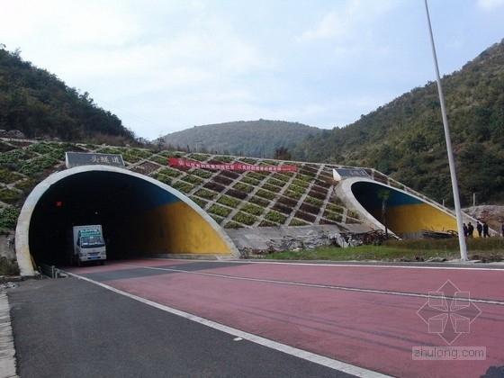 单向行驶双车道分离式隧道施工图设计