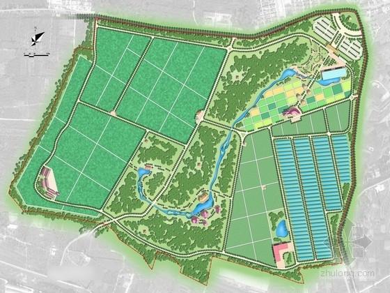 [北京]有机生态农业示范园景观规划设计方案