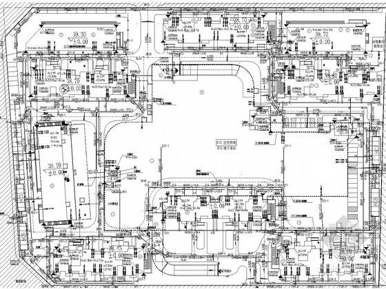 [北京]回迁安置房项目内部市政工程图纸(20万平米 18000米)
