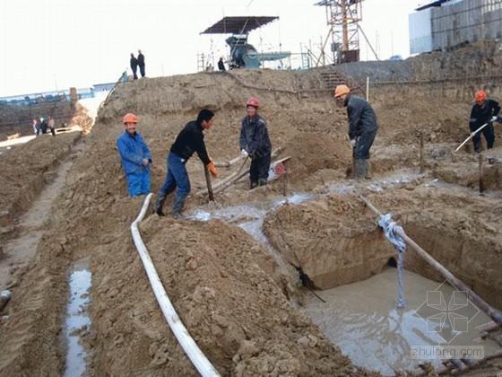 [上海]住宅基坑开挖支护施工技术(土钉墙)
