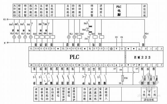 6kV电机软启动器控制原理图