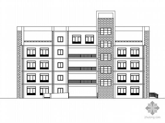 某特殊教育学校五层教学综合楼建筑施工图