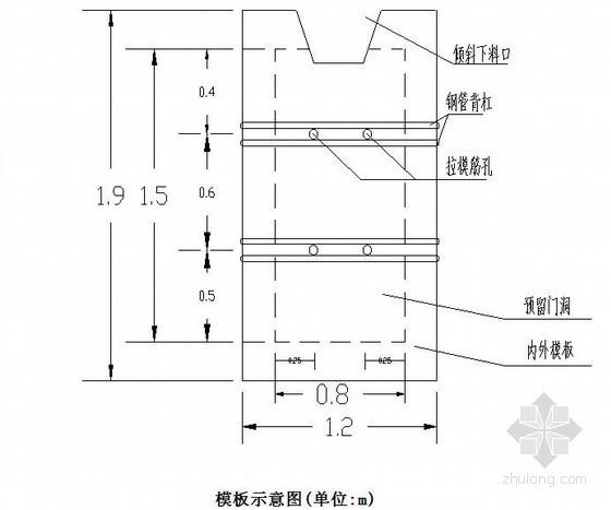 大桥空心高墩预留门洞施工方案(中铁)