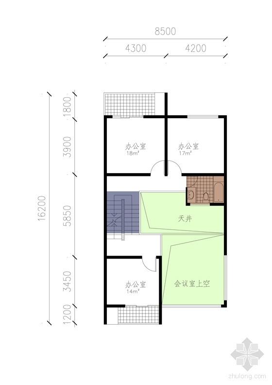 附属楼平面2