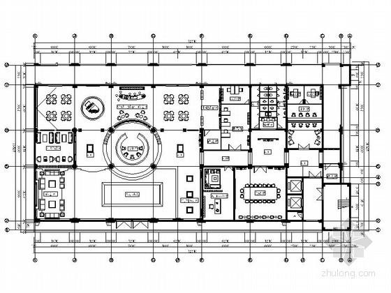 [安徽]欧式简约售楼中心室内装修图(含效果)