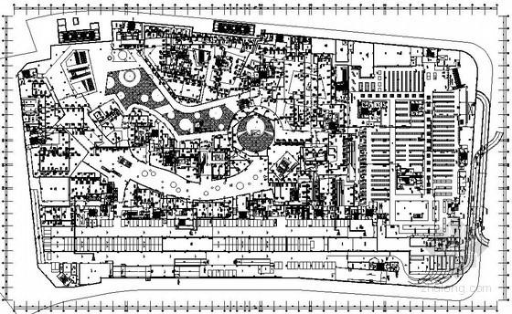 [青岛]商业综合楼暖通空调设计全套施工图