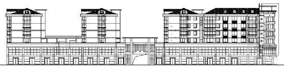 某市场多层商住综合楼方案设计图