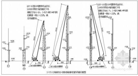 [四川]汽车总装车间厂房土建、钢结构施工组织设计