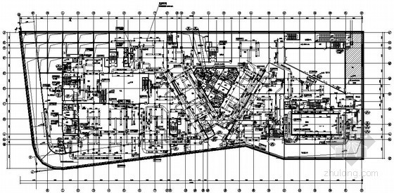 [上海]商业大楼空调通风施工图