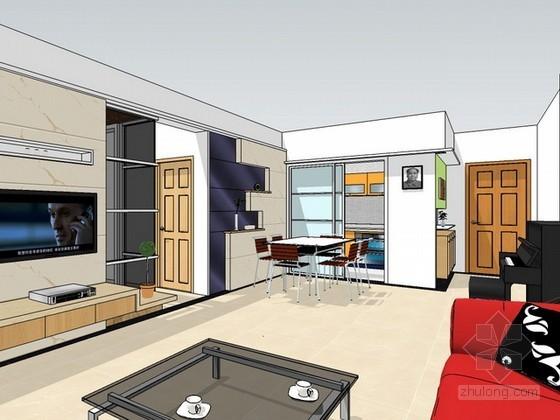 室内家装sketchup模型下载