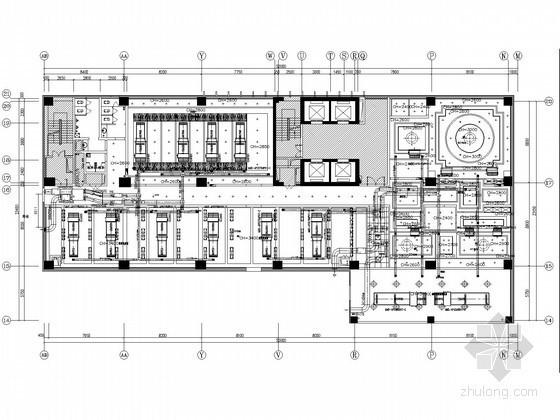 [四川]高层商业大厦空调通风及防排烟系统设计施工图(含布线图)
