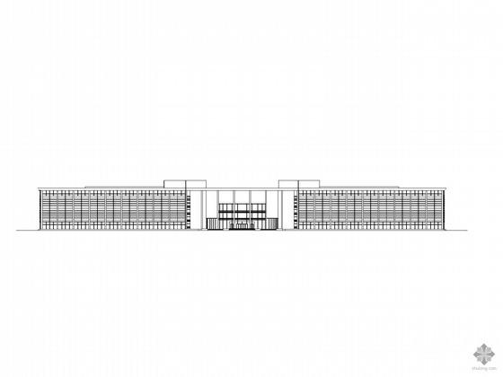 [广州]某新机场综合楼建筑施工图