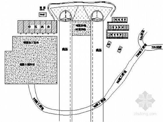 高速公路分离式长隧道初期支护施工方案68页(钢筋网锚杆钢架)