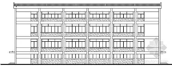 [上海]某四层工业厂房建筑方案图