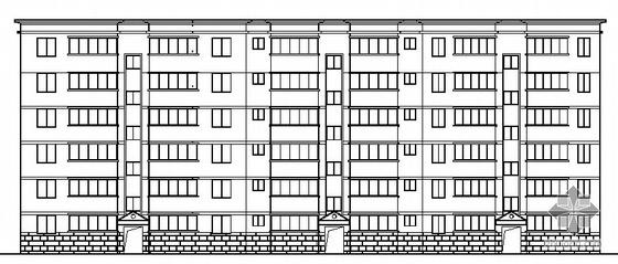 [西安]某公司六层青年公寓建筑施工图