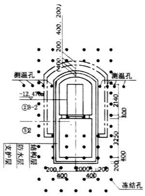 杭州地铁区间联络通道冷冻法施工工艺
