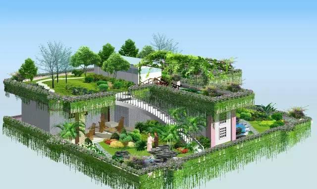 漂亮的屋顶花园,设计规范及植物搭配!