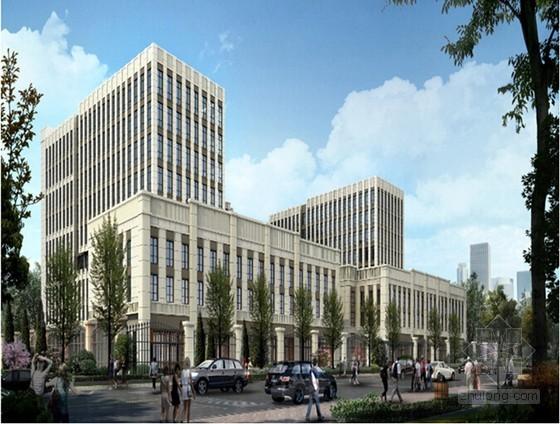 [上海]高层商务楼外墙工程安全专项施工方案