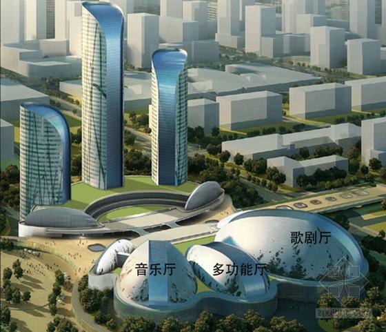 [山东]大剧院工程屋面钢结构安装施工组织设计(专家论证 附图丰富)