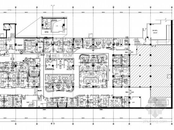 [浙江]娱乐厅装修给排水电气施工图