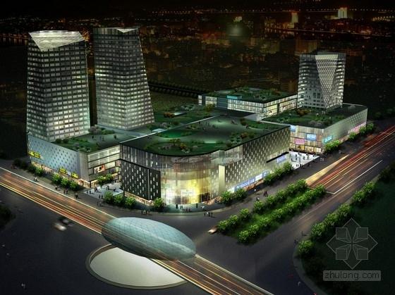 [上海]城市核心地块知名商业广场规划设计方案文本(国际顶尖事务所)