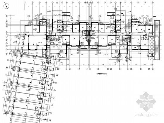 [安徽]高层住宅小区给排水消防施工图(400张 冷凝水系统)