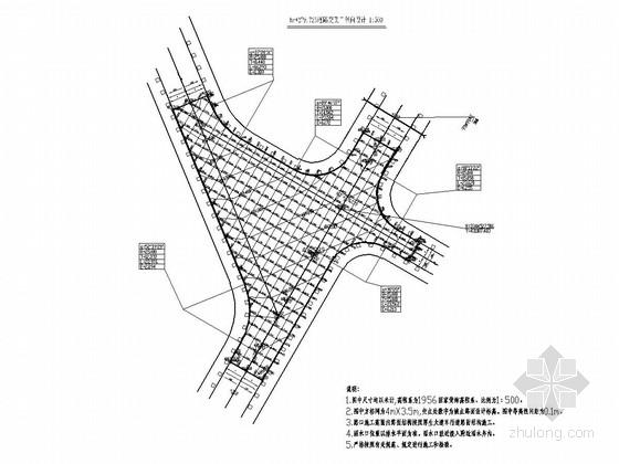 [重庆]城镇过境道路工程全套施工图设计180张