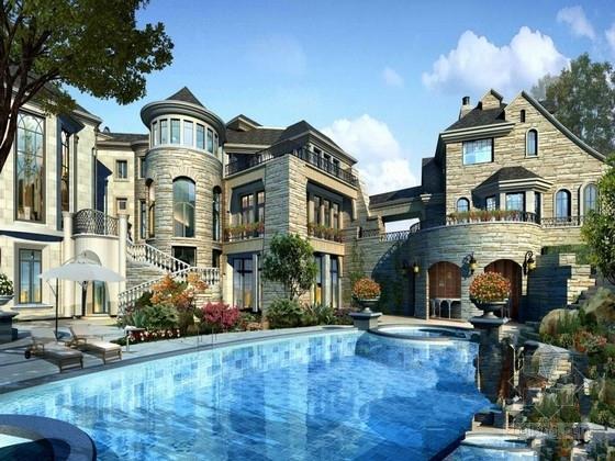 [广东]地上六层钢筋混凝土异形柱框架结构别墅结构施工图