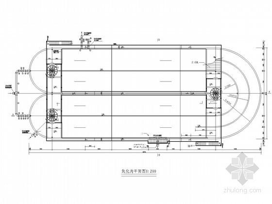 2.6万吨污水处理厂设计图(毕业设计 含设计说明书)