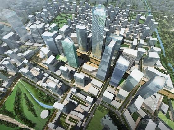 [成都]新城区现代风格概念性总体规划设计方案文本