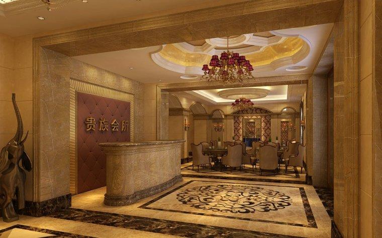 贵族会所设计-郑州会所设计-中骏设计