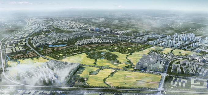 """[海南]""""产城融合""""生态海洋高新技术产业园区城市景观规划设计方案_2"""