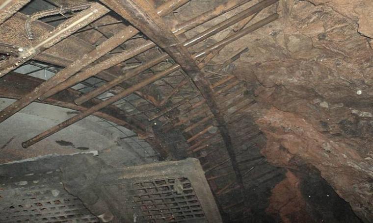 隧道工程质量通病图文展示(PPT,119页)-隧道超前小导管未按设计角度施作