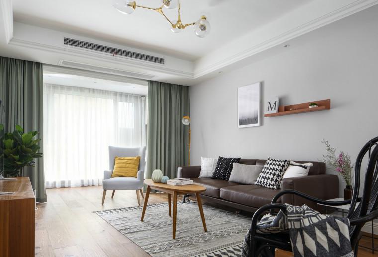 印尚设计-奥斯陆的星星|北欧混搭风住宅设计实景图15P