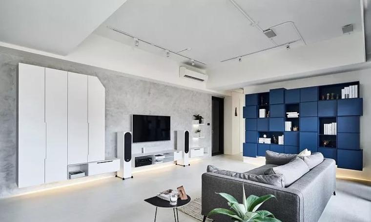 140㎡现代简约风,舒服自在的家就该这样!_9