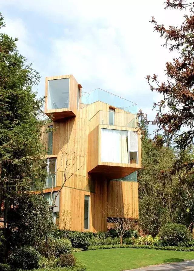 这些树屋,满足你对森林的所有幻想_17