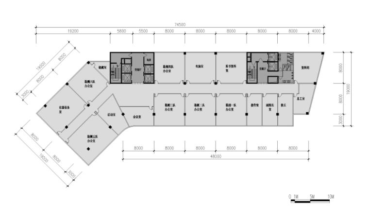 惠州市规划建设服务中心建筑设计方案(方案及施工图)