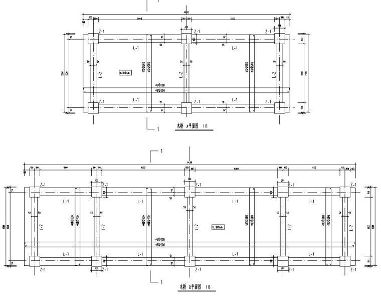 [广东]上水文园公园景观结构全套施工图设计(结构)