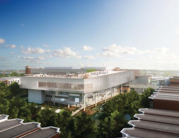 国外前沿建筑设计事务所竞标方案5组-KimballArtCenter