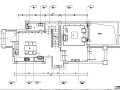 简约中式风格样板房设计施工图(附效果图)