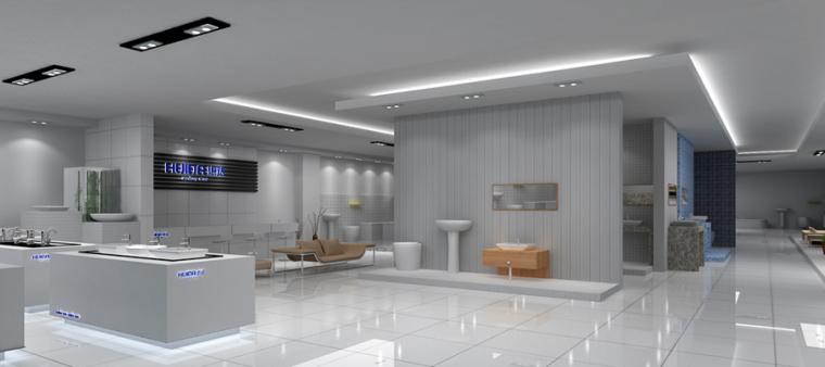 (原创)洁具专卖店.卫浴店设计案例效果图