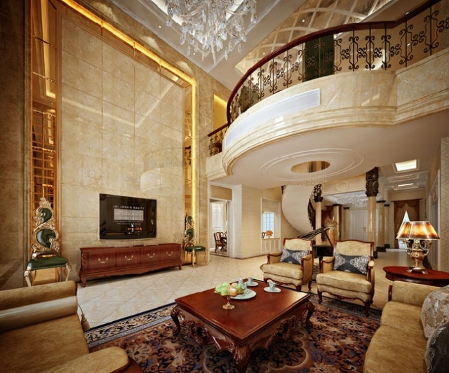 800平独栋别墅欧式装修奢华气派之家