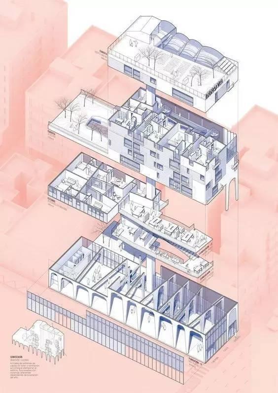 """脱了!建筑分析图怎么""""脱""""?_16"""