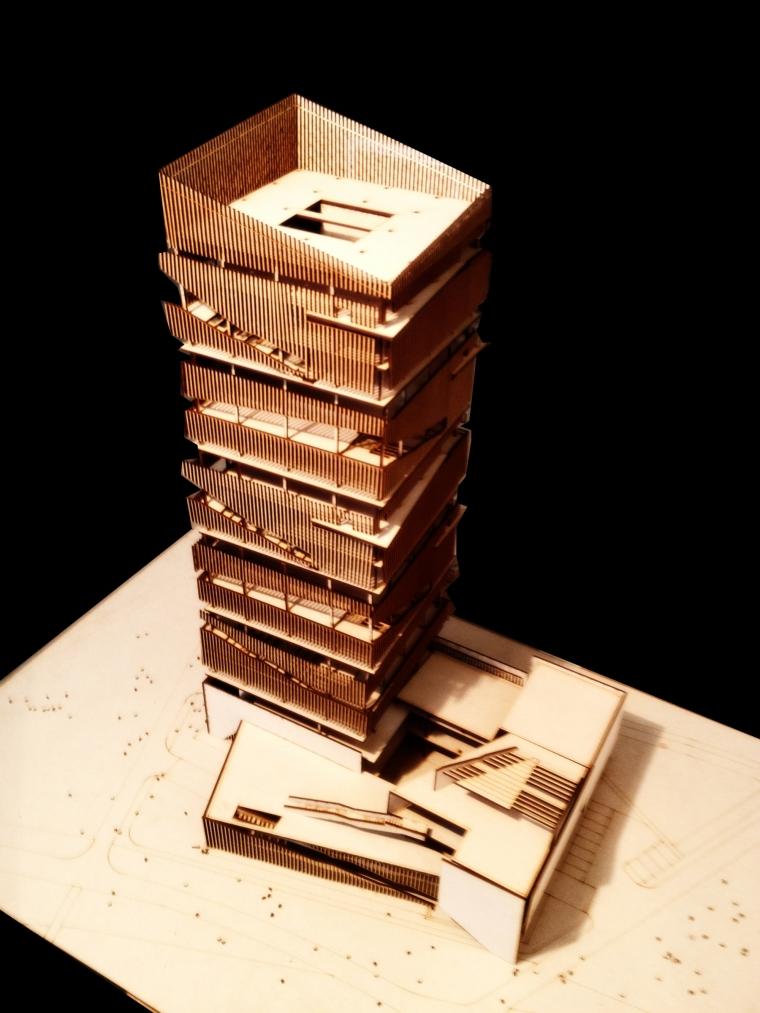 基于弹性空间的高层建筑设计_7