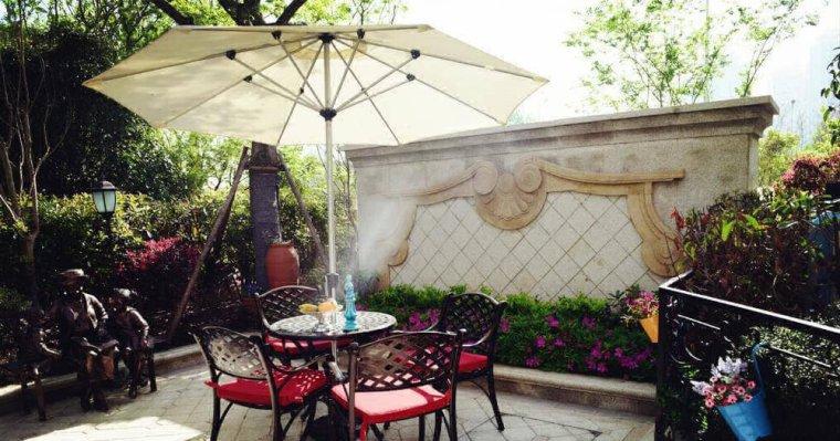 在家也能享受公园野餐的浪漫——庭院景观